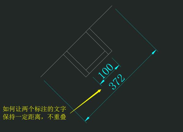 请问让CAD中布局标注之间的两个保持一cad线型里怎么改文字图片