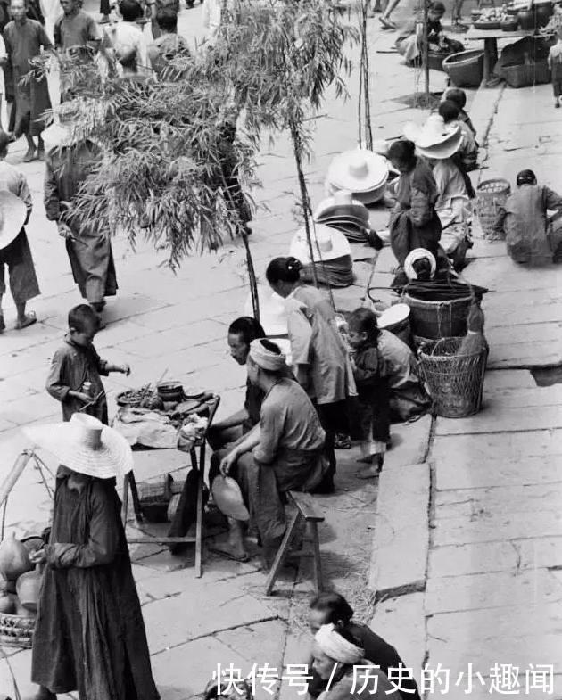 民国时期老百姓的生活照,弥足珍贵的老照片,生