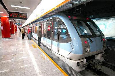 南京地铁一号线列车