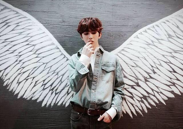 明星的翅膀照,蔡徐坤帅,赵丽颖酷炫,王俊凯的翅膀全开