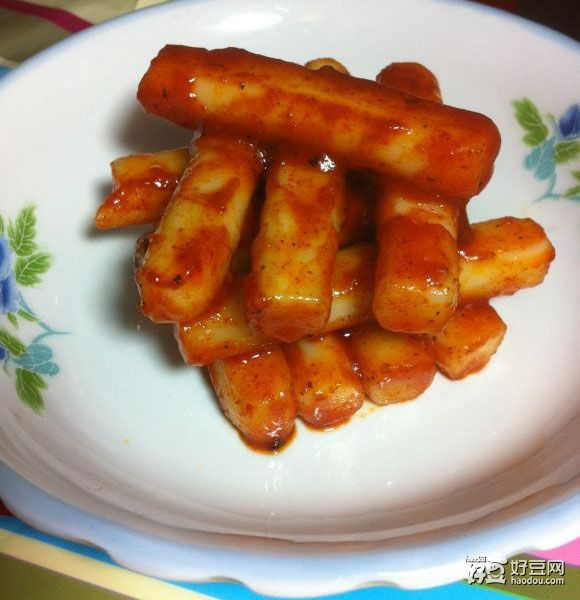韩国辣炒年糕怎么做啊?