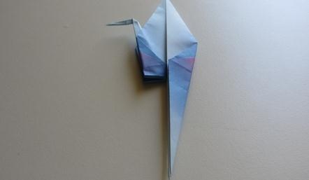 丹顶鹤折纸方法