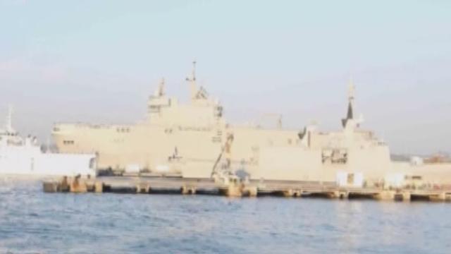《军情解码》20171106中国驱护舰