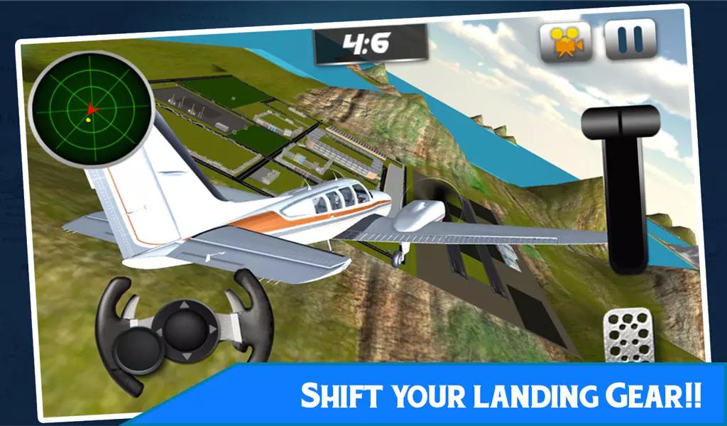游戏 模拟辅助 >空中飞行模拟器,飞机飞  飞你的飞机,以无限的限制;飞