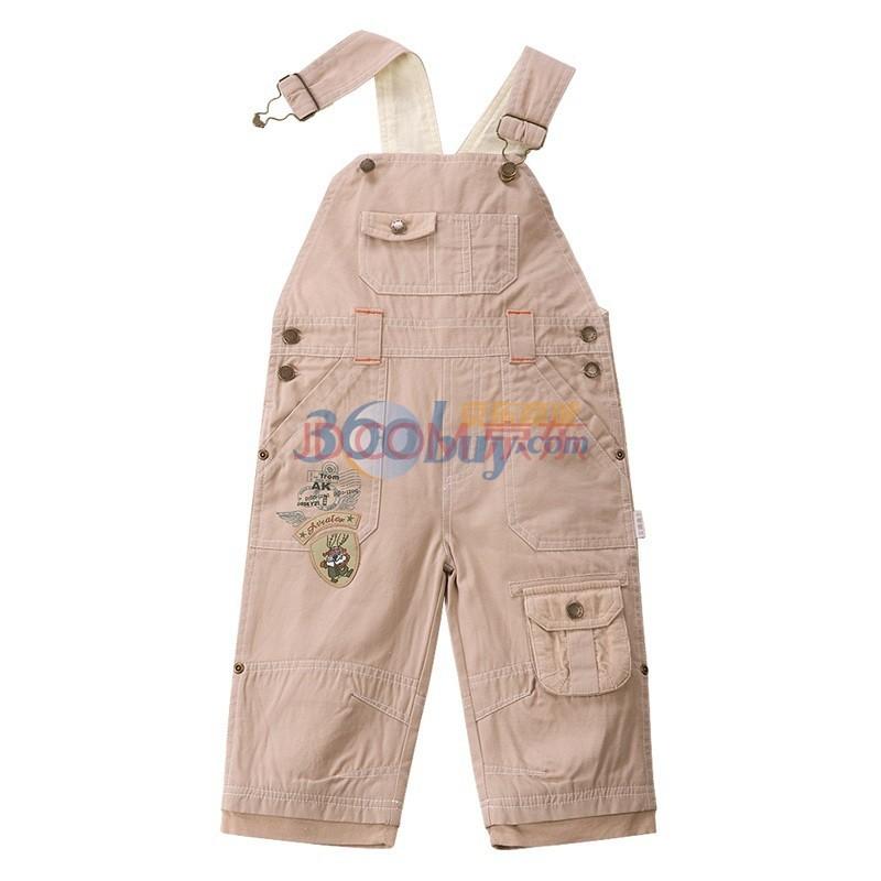 宝宝背带裤搭配什么上衣