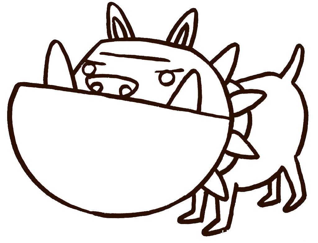 可爱的小狗简笔画漫画