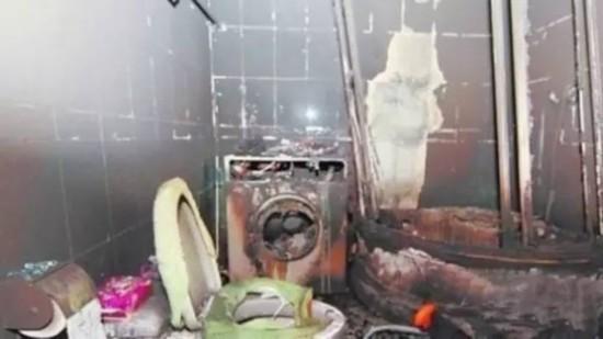 妈妈机洗羽绒服致,北大女生石瑶照片洗衣机爆炸!6岁男童被炸伤