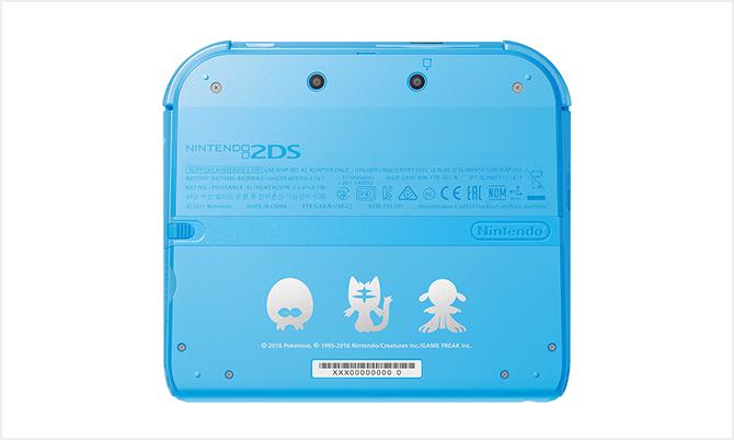 任天堂推出《口袋妖怪:日月》 限定版本2DS