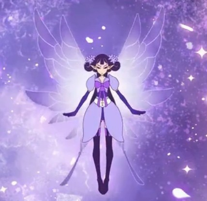 小花仙变身夏安安中所有花精灵王的图片 要说明是什么花的精灵王