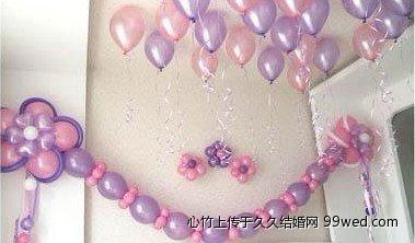 长气球编玫瑰花图解_小制作大全
