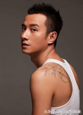 十大男明星纹身排行榜,杨洋最丑,吴亦凡不如刘恺威,最