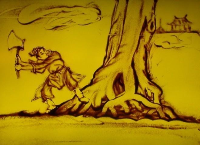 吴刚折桂-关于中秋节的神话传说 你知道几个