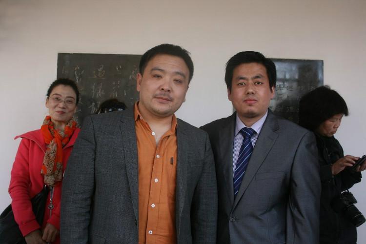 拜访天津书法家,武清区书画研究会会长刘建先生