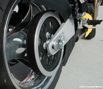 摩托车工作原理