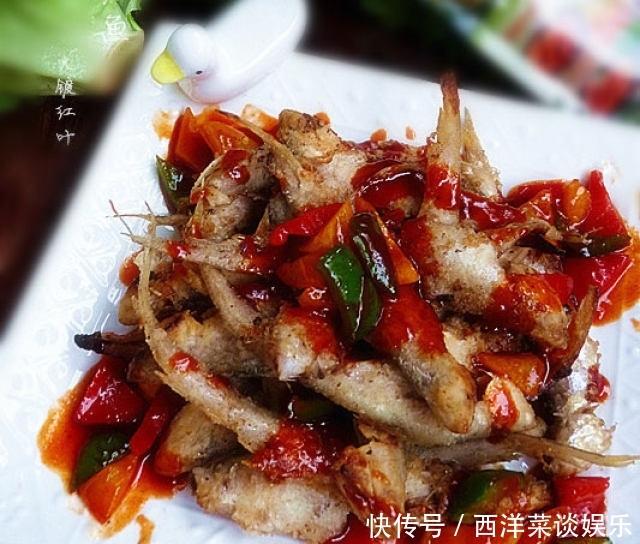 <b>糖醋辣酱凤尾鱼,酸甜开胃,不腻不腥,下饭也很好</b>