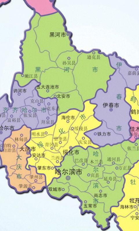 黑龙江卫星导航地图_软件频道