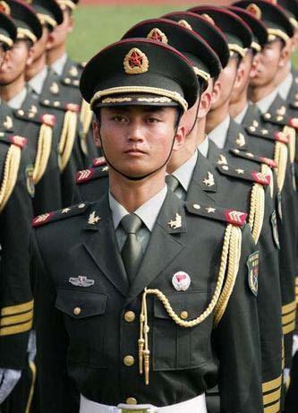 07式军服图片