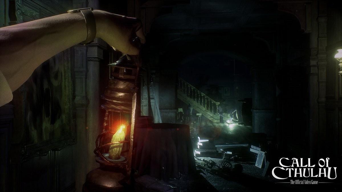 《克苏鲁的呼唤》游戏曝光新实机画面