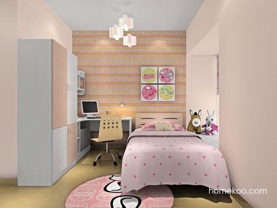 10平方米女生卧室装修效果图