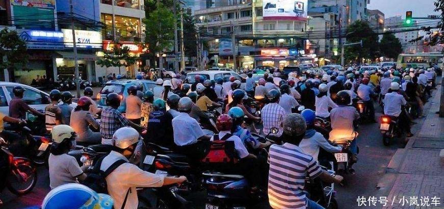 曾疯狂采购我国摩托车的越南,为啥改买日本摩托车?实情让人无奈
