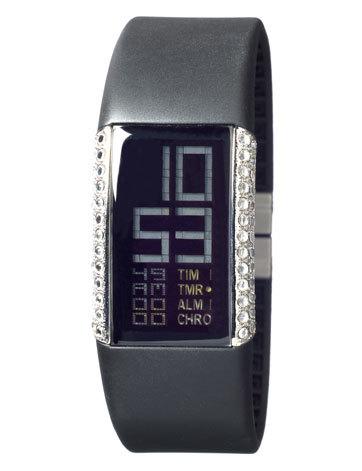 数字显示电子手表采用发光二极管或者液晶为显示元件,直接以数字表示