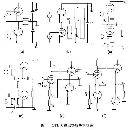 otl电子管耳放diy电路图
