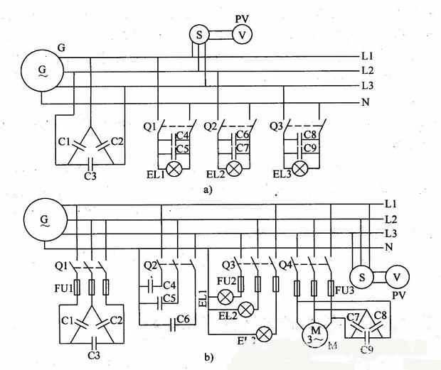 信息中心 发电机接照明法图   解决方案1: 发电机接照明电路图吧.