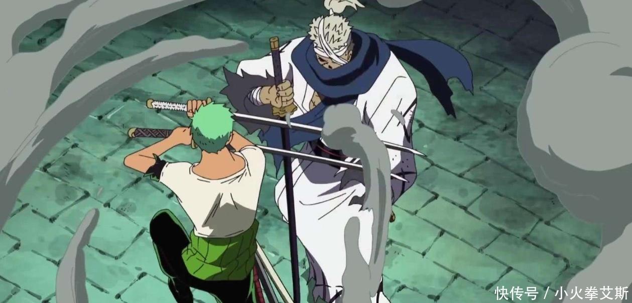 海贼王,布鲁克惨败龙马,索隆出来接盘,和之国第一剑豪颜面丢尽