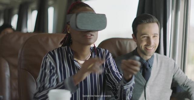 谷歌公开Daydream View广告