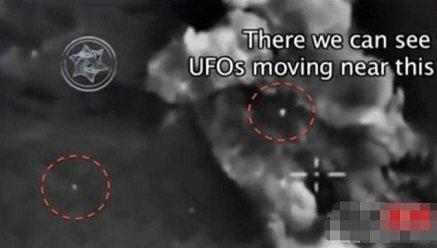 俄轰炸is录像惊现ufo,外星人监视人类战争