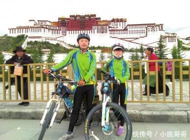 25天骑行2250公里,内江10岁女孩再战川藏线成功
