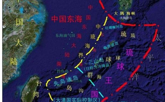 严格来说,琉球其实是中国的领土,二战之后美国曾想把琉球还给蒋介石