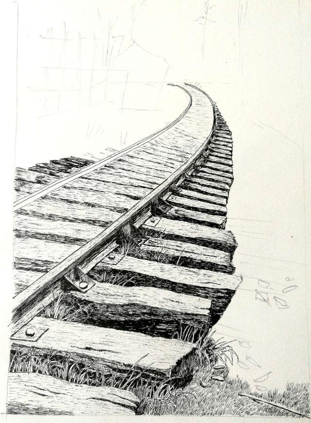 钢笔画的魅力21~临摹(附步骤图)