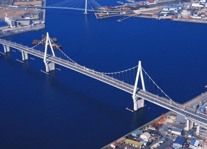 桥梁部位名称图解