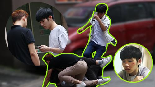 小伙恶整卖假手机的骗子遭暴打【国产整蛊大师】69