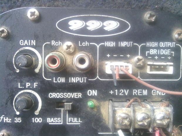 低音炮接线图图片大全 汽车低音炮专用功放 大功率低高清图片