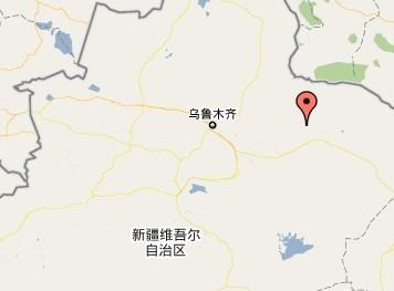 下涝坝乡在新疆维吾尔自治区内位置