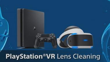 索尼官方推PSVR清洁教程视频 镜片与遮光罩要点