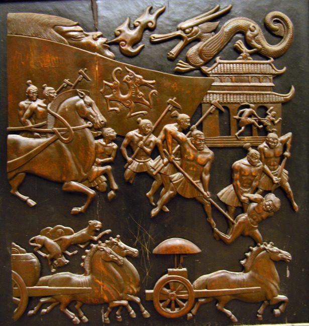 这个历史遗迹的发现,让我们对黄帝大战蚩尤有了新的理解 -  - 真光 的博客