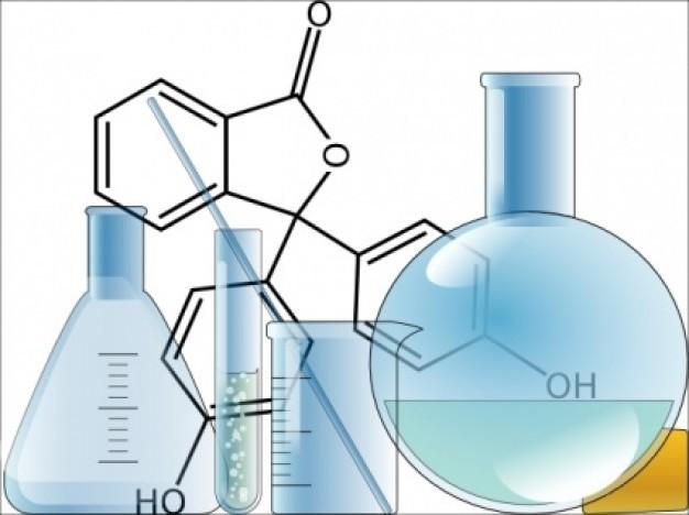 化学瓶子简笔画