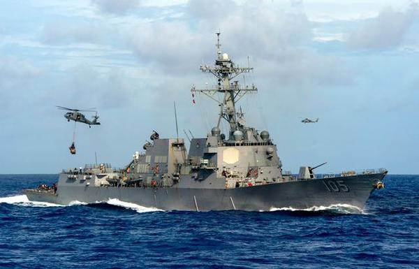 美軍艦擅闖南沙群島海域,中方警告驅離