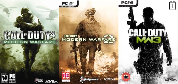 《使命召唤 现代战争》三部曲将出重制版