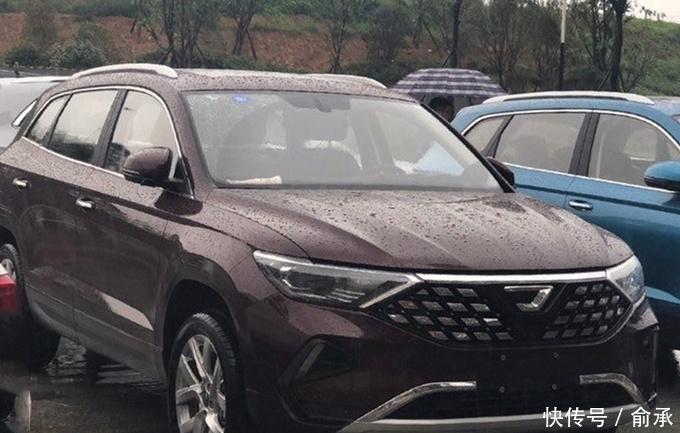 捷达新SUV实拍,和大众途观一个平台,颜值更高,只卖11万元