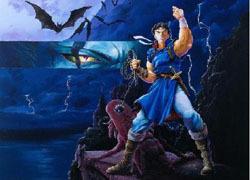 西蒙-《恶魔城》游戏角色