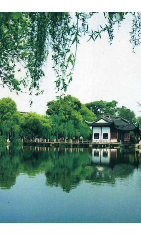 绿色西湖风景壁纸_360手机助手